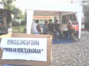 Komunitas Music Kabupaten Lahat galang dana